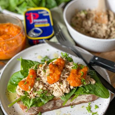 sandwich met makreel